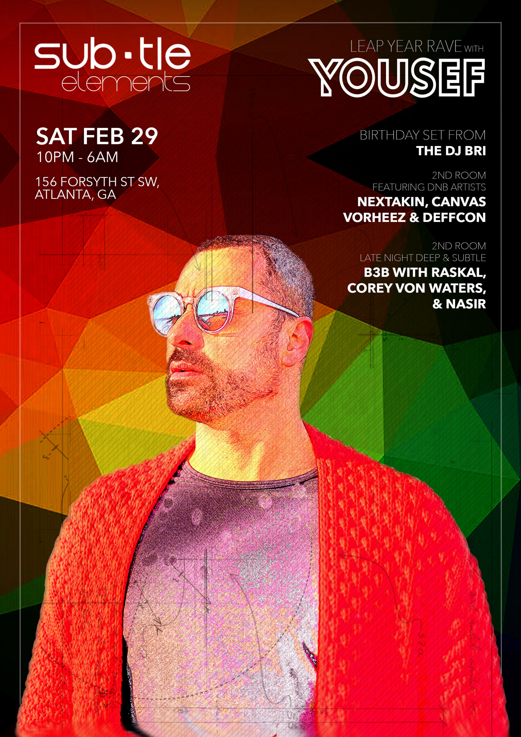 Subtle Elements – Leap Year Rave with YOUSEF